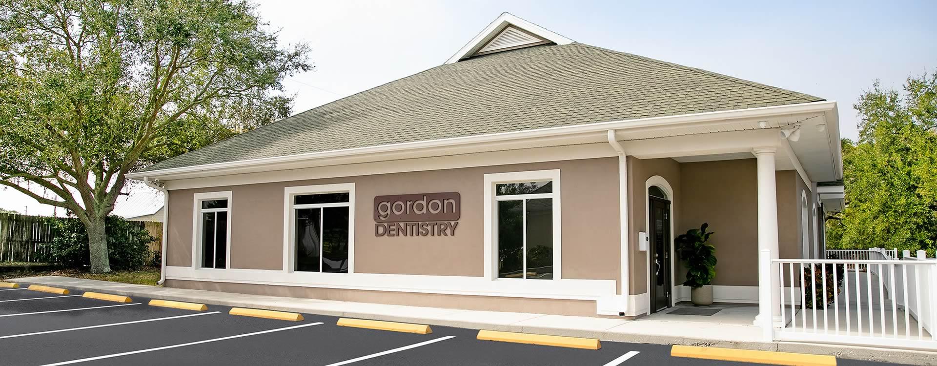 Gordon Dentistry - office exterior